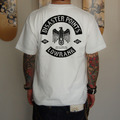【受注生産】T-SHIRTS(DISASTER POINTS×LOWRANK Wネーム/2013年版)[WHITE]