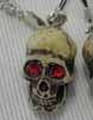 Red eyes Skull携帯ストラップ[プラケース入り]