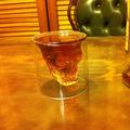 クリスタルスカル・ショットグラス/the crystal skull shot glass