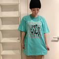 ドクロズ幼女Tシャツ(空色)