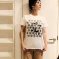 ドクロズ幼女Tシャツ(白)