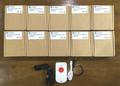 9軸センサ,パニックボタン付LoRaWAN GPSトラッカー LGT92 10パックキット