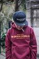 "DUCKTAIL CLOTHING""SIGN HOODIE"" BURGUNDY"