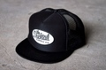 "新作入荷!!DUCKTAIL CLOTHING TRUCKER CAP ""TRUCKIN'"" BLACK"