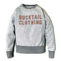 "DUCKTAIL CLOTHING 2 TONE SWEAT ""TIMES"""