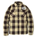 "DUCKTAIL CLOTHING HEAVY FLANNEL CPO JACKET ""BUFFALO"" BEIGE"