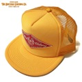 "DUCKTAIL CLOTHING ""HORSESHOE"" TRUCKER CAP YELLOW"