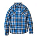 "新作入荷!!DUCKTAIL CLOTHING L/S CHECK SHIRTS ""CRAP"" BLUE"