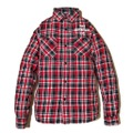 "新作入荷!!DUCKTAIL CLOTHING L/S CHECK SHIRTS ""CRAP"" RED"