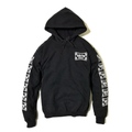 "Addiction KUSTOM THE LIFE ""CROSS"" HOODIE BLACK"