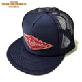 "DUCKTAIL CLOTHING ""HORSESHOE"" TRUCKER CAP NAVY"