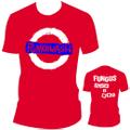■FUNGUS_PUNK&WASH Tシャツ赤