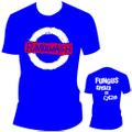 ■FUNGUS_PUNK&WASH Tシャツ青