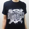 The Rumjacks_オリジナルTシャツ黒