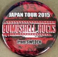 BSR JAPAN TOUR2015缶バッチ2個セット③