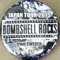BSR JAPAN TOUR2015缶バッチ2個セット①
