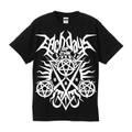 サタニックTシャツ 黒[M・L・XL]
