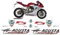 MV AGUSTA/アグスタ F3 カスタム グラフィック ステッカー デカール