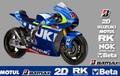 スズキ MotoGP スポンサーステッカー