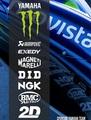 MotoGP YAMAHA モンスターエナジー アンダーテール ステッカー