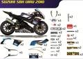 GSX-R1000 SBK グラフィック デカール ステッカー