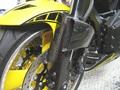 MT-01 カーボン ブレーキクーリングカバー