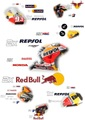 MotoGP レプソルホンダ レプリカステッカー