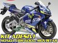 モビスター グラフィック CBR600RR 03-06 ステッカー/デカール