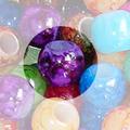 ビーズ 4個入 紫色