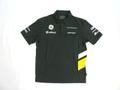ケータハム・ルノー 2013年 支給品 後期版 ストレッチ素材 速乾性 ポロシャツ メンズ L 3/5