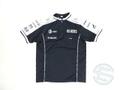 ウィリアムズ 2010年 支給品 マクレガー製 速乾性 最終版 ZIPシャツ メンズ M 4/5