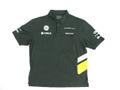 ケータハム・ルノー 2013年 支給品 後期版 ストレッチ素材 速乾性 ポロシャツ メンズ 3XL 3/5