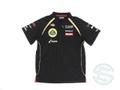 ロータス 2012年 支給品 ポリエステル素材 速乾性 半袖 ZIPシャツ メンズ S 2/5
