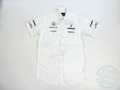 メルセデス・AMG 2010年 支給品 ヘンリロイド製 半袖 ピットシャツ M 1/5