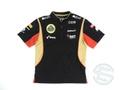 ロータス 2013年 支給品 Dry-Fit ZIPシャツ メンズ S 4/5