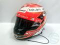 ENQUIRE キミ・ライコネン 2014年 フェラーリ バーレーンGP & 芝刈り機レース 実使用 ヘルメット