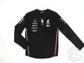 バルテリ・ボッタス 2019年 メルセデス AMG 支給品 本人用 長袖 Tシャツ 黒