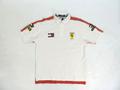 フェラーリ 1998年 公式 トミーヒルフィガー製 コラボ版 ポロシャツ メンズ M 1/5