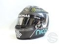 ニコ・ロズベルグ 2016年 メルセデス AMG 実使用 ヘルメット