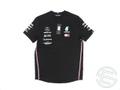 バルテリ・ボッタス 2019年 メルセデス AMG 支給品 本人用 半袖 Tシャツ 黒