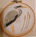 Becky Hogg Goldwork Kit Heron
