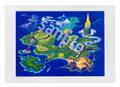 「聖剣伝説3ワールドマップ」ポスター