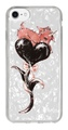 "for iphone ""Magical twins goat"" cosmo-black heart-white"