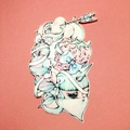「unicorn army」ERICO Sticker L size