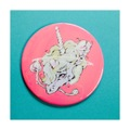 "LOVE&VOID""siamies unicorn /two"" badge"