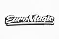 EuroMagic ステッカー白W100mm[LikeHell-Design]