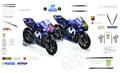 MotoGP モビスターヤマハ 2018 グラフィックステッカー