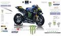 MotoGP 2019 YZR-M1 グラフィックステッカー