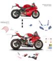 パニガーレ V4用 MotoGPレプリカ グラフィック
