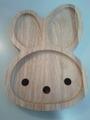うさぎの木製プレート